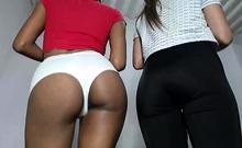 Lesbian Latin Threesome