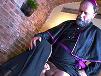 This Preacher Knows How To Punish Monastery Personal