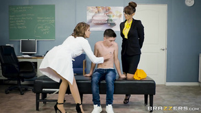 School Nurse August Ames Teacher Isis Love Have Their Way With Jordi El Niño Polla