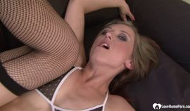 Brunette Loves To Get Her Tight Holes Fucked