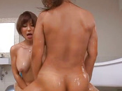 Naughty Japanese Chicks Are Giving Solo Stud Wild Blowjob