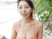 Sensational Beauty In A Beach