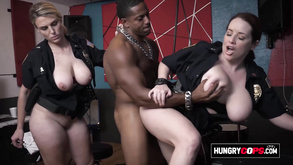 Raunchy Cops Get Banged At The Studio