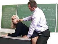 Horny Teacher Will Not Forgive Another No