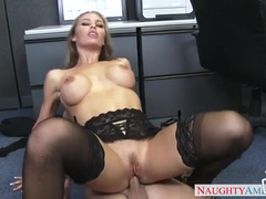 Tricky Boy Gives Colleague Nicole Aniston Dicking She Needed