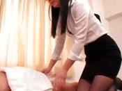 Curvaceous Darling Handjob