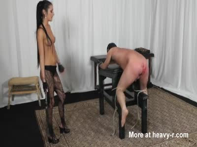 Whipped Bleeding By Hot Topless Mistress