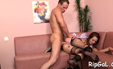 Delightful Young Marisa Messer Finally Receives Hard Fuck