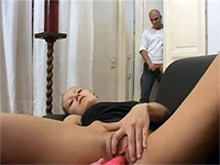 Blonde Girl Caught While Playing With Herself