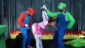 Brutal Brothers Are Punishing The Princess