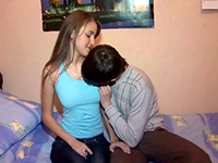 Young Amateur Couple Caught Fucking On Tape
