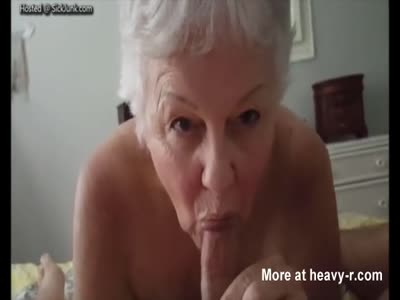Grandmother Giving Grandson A Pro Blowjob