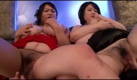 Japanese Bbw Threesome