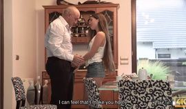 DADDY4K. Gentle Dad Of Guy Is Better In Bed With Girl Than Her BF