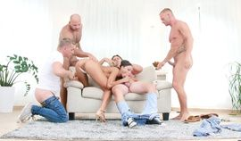 Cassie Del Isla – Naughty Brunette Gang Banged