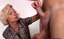 Bigger Penis Measured By Older Woman